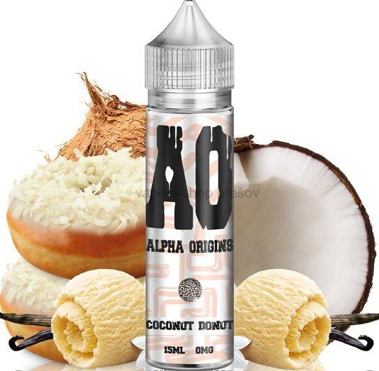 Príchuť Alpha Origins Shake and Vape  Coconut Donut 15ml