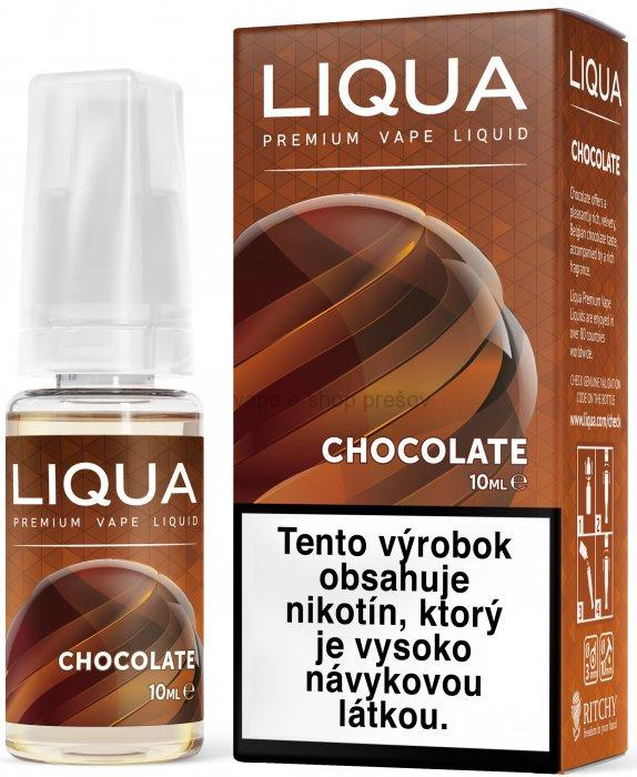 10ml Liquid LIQUA  Elements Chocolate - čokoláda