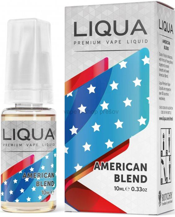 10ml Liquid LIQUA  Elements AMERICAN BLEND - Americký miešaný tabák