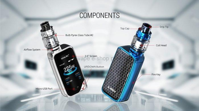 Smoktech X-Priv TC225W Grip Full Kit Prism Gun Metal