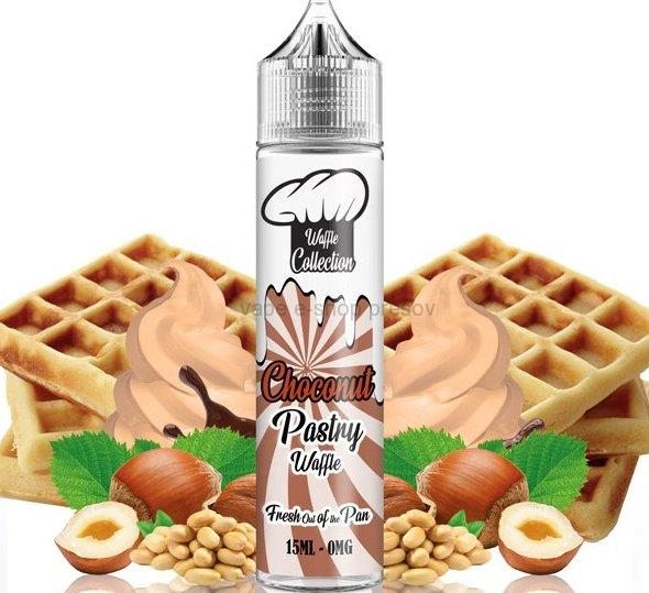 Príchuť WAFFLE COLLECTION -  Choconut Pastry -vafle s čokoládou  - 15ml