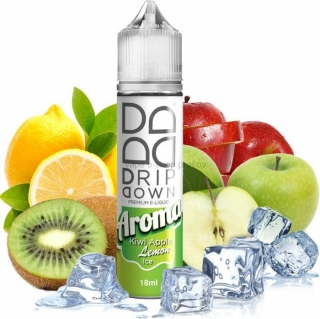 Príchuť Drip Down Shake and Vape Kiwi Apple Lemon 18ml