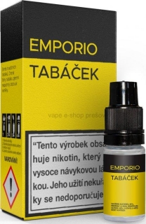10ml Liquid EMPORIO Tobacco - Tabáček