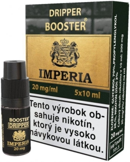 Dripper Booster IMPERIA 5x10ml PG30-VG70 20mg