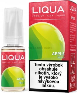 10ml Liquid LIQUA  Elements APPLE - jablko