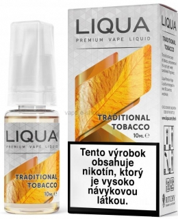 10ml Liquid LIQUA  Elements Traditional Tobacco - Tradičný tabák