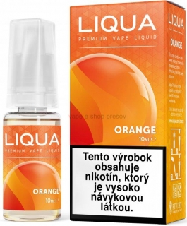 10ml Liquid LIQUA  Elements  ORANGE - Pomaranč