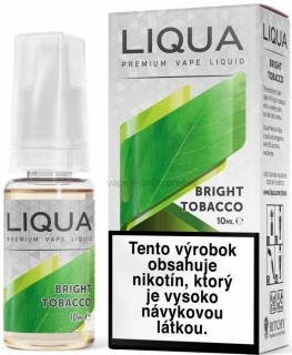 10ml Liquid LIQUA  Elements  Bright Tobacco - Virginia tabák