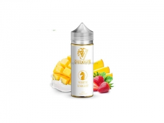 10ml Príchuť Checkmate Dampflion White Knight - Jogurt, mango, jahoda